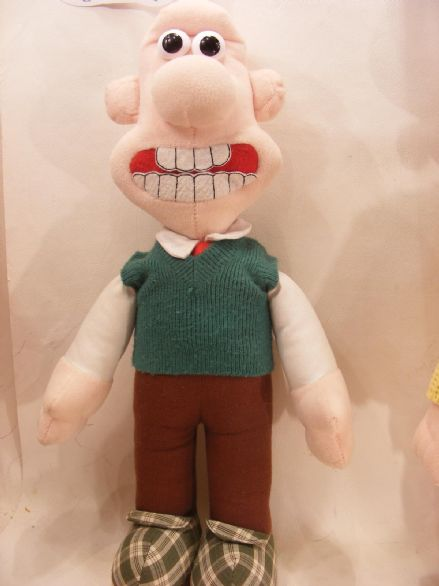 "VINTAGE 12"" WALLACE FROM WALLACE & GROMIT (80S)"